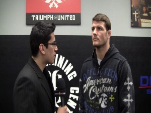bisping interview  300x225 Michael Bisping I do not give a s*** who fans are cheering for, all I care about is winning