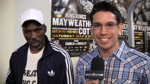 me and roger  300x168 Roger Mayweather It will be a mismatch down the stretch, Floyd will probably stop Miguel Cotto