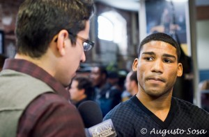 DSC 4992 300x198 Yuriorkis Gamboa I am here at 135. So if Broner wants to keep looking for me, he knows where to find me.