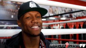 Zab Judah is smiling at the chance to get in the ring with Danny Garcia on April 27th