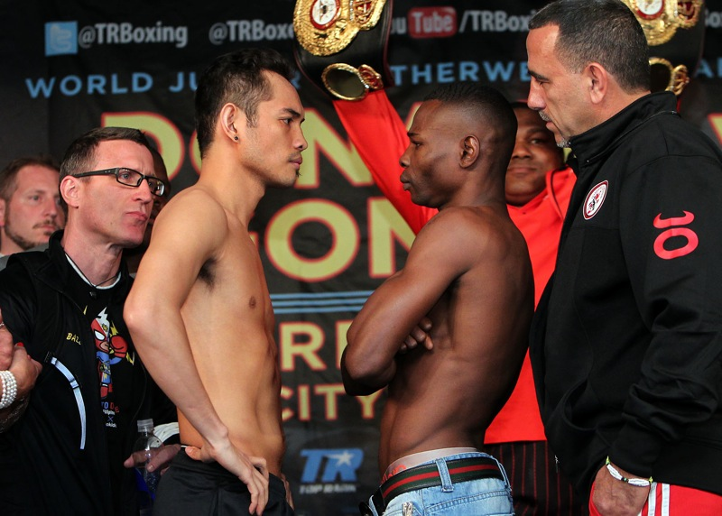donaire rigondeaux weigh in